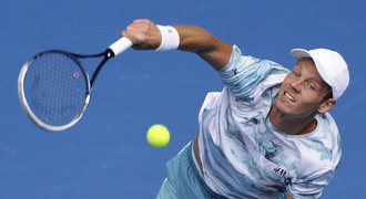 Berdych zničil v Austrálii Tomice, ve čtvrtfinále ho čeká Nadal