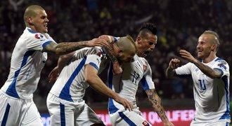 Favorité nezklamali. Výhry slaví Slovensko, Anglie či Španělsko