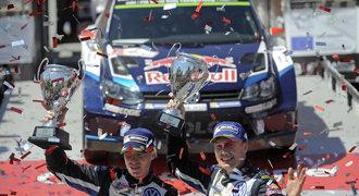 Latvala vyhrál Portugalskou rallye, Prokop s novým vozem desátý