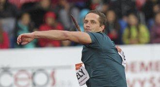 Skvělý Veselý, na mítinku v Lausanne skončil výkonem 87,9 druhý