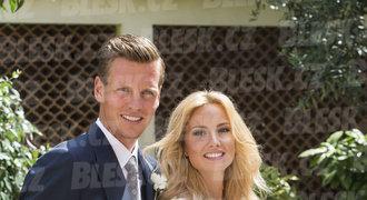 Utajená svatba. Berdych se oženil, přítelkyni Ester si vzal v Monaku