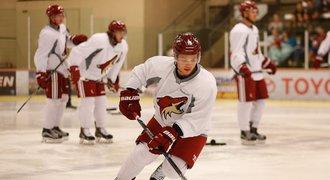 Syn slavného rváče se chystá na NHL: Krev si měří dvanáctkrát denně