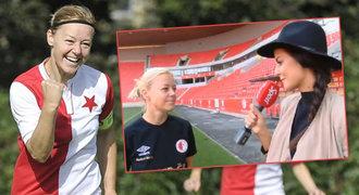 Kapitánka Slavie před LM: Fotbal je hezký, i když ho dělají holky