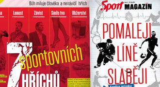 SPORT MAGAZÍN: Hříchy českých fotbalistů a hokejistů