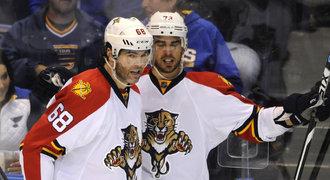 Jágr útočí na rekordy. V NHL má teď více bodů než 88% útočníků