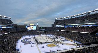 NHL se těší na Winter Classic. Boston straší nebezpečný led
