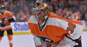 Neuvirth je u Flyers spokojený, ale hlásí: Rád bych chytal víc