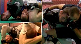 Cesta k zápasu MMA 3: Jak redaktora Sportu škrtil bijec z UFC