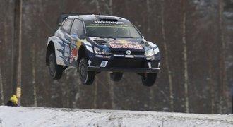 Švédskou rallye vyhrál mistr světa Ogier, překvapil druhý Paddon