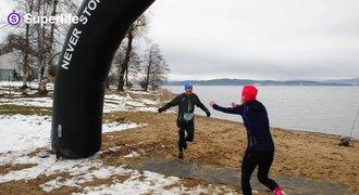 Cesta na maraton 6: Formu týmu prověřily bahno a mráz na Lipně