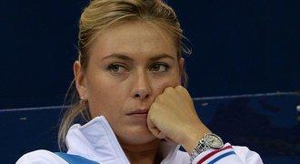 Expert na doping: Šarapovová má OBŘÍ problém. Trest bude tvrdý