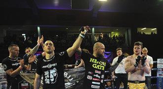 Redaktor Sportu vyhrál debut v MMA: Překročil jsem vlastní stín