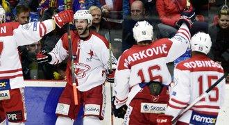Slavia má proti Budějovicím třetí výhru, Ústí snížilo stav série
