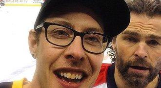 Jágr a selfie s fanouškem Pittsburghu. Aspoň něco se mi povedlo, smál se