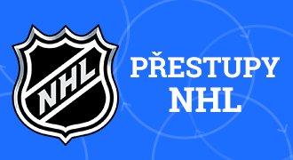 ONLINE: Nové smlouvy, spekulace a veškeré přestupové dění v NHL