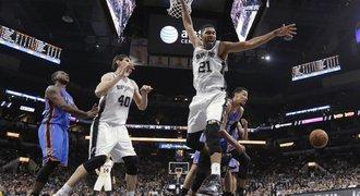 San Antonio 40. domácí výhrou v sezoně vyrovnalo rekord NBA