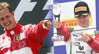 Schumacher, Piquet, Barrichello. Synové slavných otců kráčí do formule 1