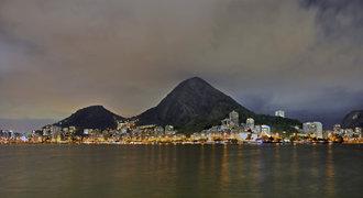 Sportoviště v Riu - pláž Copacabana