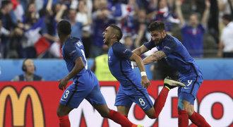 Francie – Rumunsko 2:1. Favorita zachránil v úvodu EURO Payet
