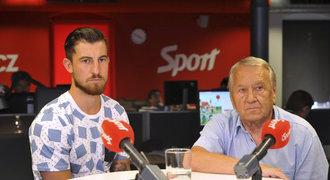 Vácha a Jelínek o těsné prohře: Hrát bez míče je demotivující