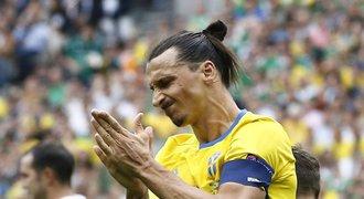 Končí Zlatanova éra. Najít tak skvělého hráče bude těžké, řekl kouč Švédska
