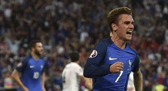 Francie - Albánie 2:0. Domácí trápení ukončil střídající Griezmann