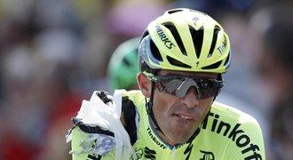Start Tour: Cavendish poprvé do žlutého, Contador dojel sedřený
