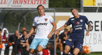 West Ham - Slovácko 2:2. Parádní závěr! Civič zaskočil slavného soupeře