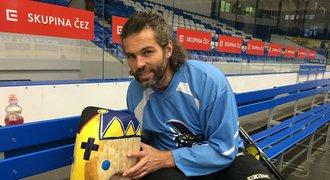 Jágr a další olympionici nabarvili své slony! Hokejový bůh má nad chobotem křížek