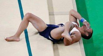 Agonie a bolest. Olympijské soutěže v Riu zasáhla dvě velmi vážná zranění