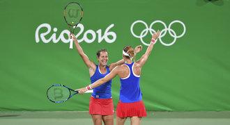 Tenistky zajistily v Riu medaili! V semifinále jsou S+Š i H+H i Kvitová
