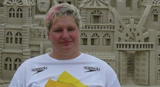 První medaile z paralympiády. Plavkyně Třebínová získala bronz