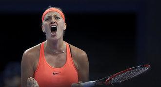 Kvitová dál řádí! V Lucemburku porazila Davisovou a zahraje si o titul