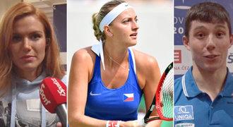 Čeští sportovci posílají vzkazy zraněné Kvitové: Ty to dáš! Držíme palce