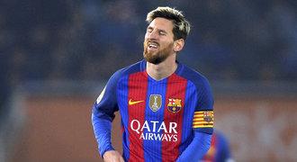 Barcelona hledá peníze na Messiho. Hráči se vztekají a bojí se o hvězdu