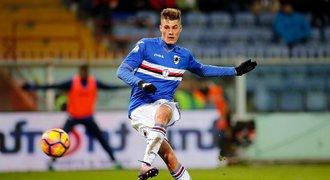 Italská hvězda o Schickovi: Nejlepší hráč, kterého jsem kdy v klubu viděl