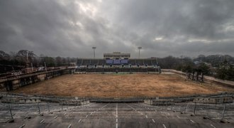Jako z hororu! Ze slavného stadionu z OH v Atlantě jsou smutné ruiny