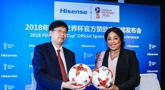 Společnost Hisense se stává oficiálním sponzorem soutěže FIFA World CupTM 2018