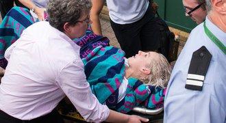 Hrůzné zranění Mattekové: Kurty pod palbou kritiky, pomoc přišla pozdě