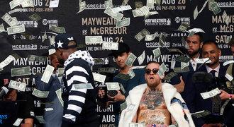 Blázinec za 13 miliard! Zápas Mayweather vs. McGregor je stroj na peníze