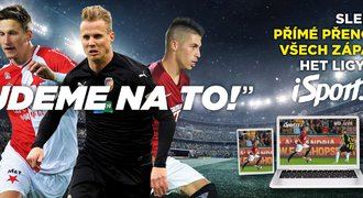 Přímé přenosy a sestřihy z HET ligy sledujte v HD pouze na webu iSport.cz
