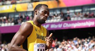 Olympijský šampion Bolt se pral v Londýně. Než přijela policie, byl fuč!