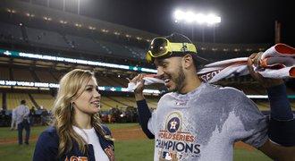 Vyhrál životní zápas a v zápětí baseballista Correa požádal miss o ruku