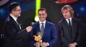 Cannavaro je nejlepší kouč v Číně, trofej mu dal kamarád Nedvěd