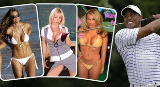Kdo všechno spal s golfistou Woodsem? Číšnice, pornohvězda, sexy lyžařka a další