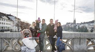 Rodiny Suchého a Vaclíka našly štěstí v Basileji: Postup v LM, stěhování a Vánoce!