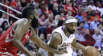 Jízda Houstonu končí. Rockets padli po 14 zápasech, nestačili na Lakers