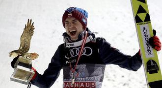 Senzační Stoch! Polský skokan ovládl všechny závody Turné čtyř můstků