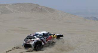 Loeb na Dakaru skončil. Macík zůstal čtvrtý, Prokop je v top desítce