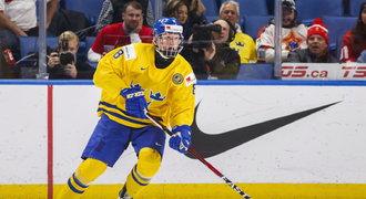 Nezkušený? Nevadí. Se Švédy jede na ZOH 17letý Dahlin, favorit draftu NHL